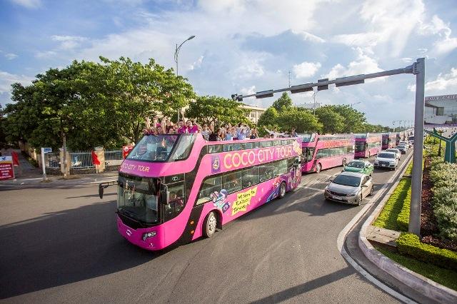 Khám phá tuyến xe buýt 2 tầng phục vụ du lịch đầu tiên tại Đà Nẵng - Ảnh 4.