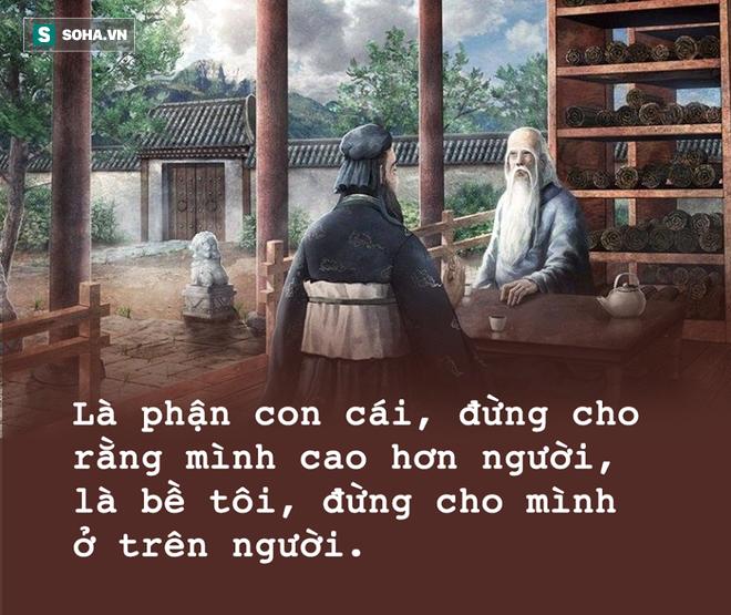 Thăm Lão Tử về 3 ngày không nói, cuối cùng Khổng Tử mới thốt lên 1 câu, ngàn năm vẫn đúng! - Ảnh 2.