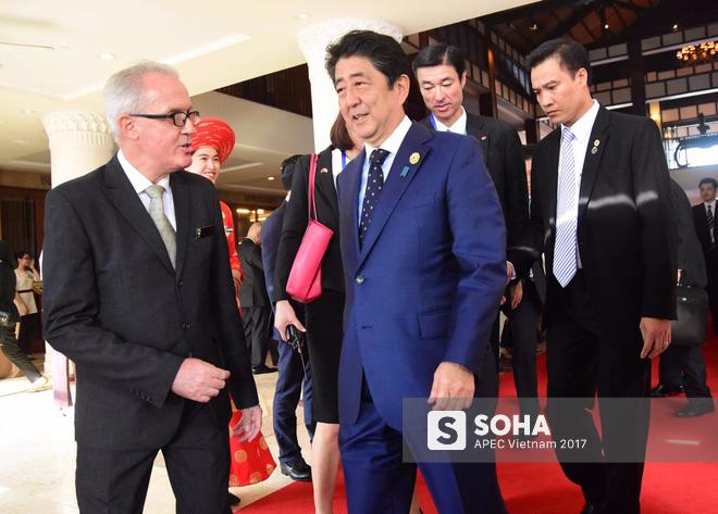 Apec 2017: Thủ tướng Nhật Bản Shinzo Abe.