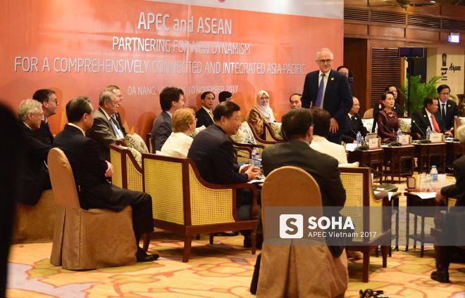 [ẢNH] Các trưởng đoàn kinh tế dự Đối thoại không chính thức APEC-ASEAN - Ảnh 7.