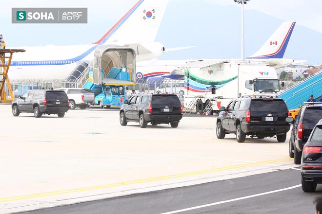 Mật vụ Mỹ đến sân bay, Air Force One sẵn sàng đưa tổng thống Trump rời Đà Nẵng ra Hà Nội 9
