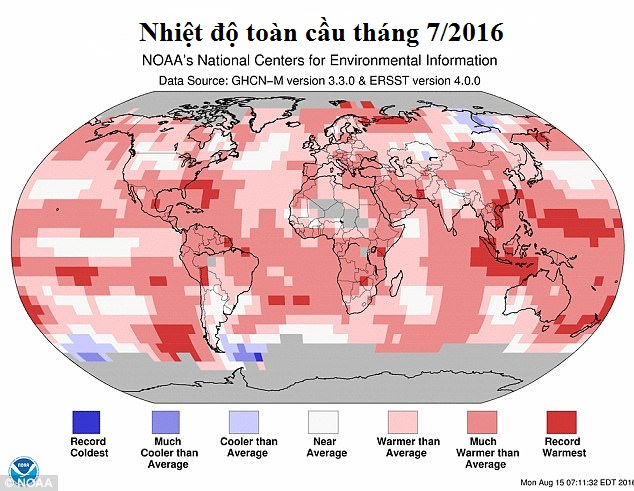 Khoa học cảnh báo: Trái Đất đang lâm vào thảm họa sánh ngang bom hạt nhân