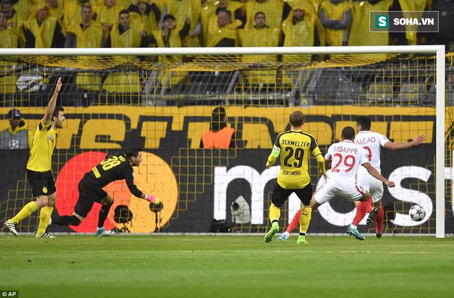 Ghi bàn thắng hiểm giống hệt cầu thủ HAGL, sao U20 Pháp giúp Monaco đánh bại Dortmund - Ảnh 1.