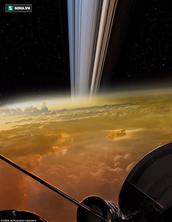 Lần đầu tiên trong lịch sử, NASA thu được âm thanh kỳ lạ từ sao Thổ - Ảnh 1.