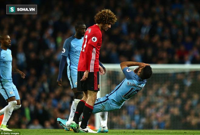 """""""Sống sót"""" sau derby Manchester, Quỷ đỏ thở phào nhẹ nhõm - Ảnh 1"""