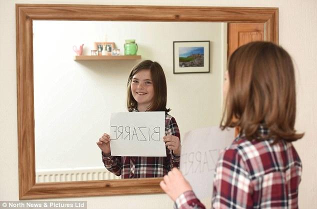 Hiếm gặp: Bé gái 10 tuổi có khả năng đọc ngược từ rất nhanh - Ảnh 5.
