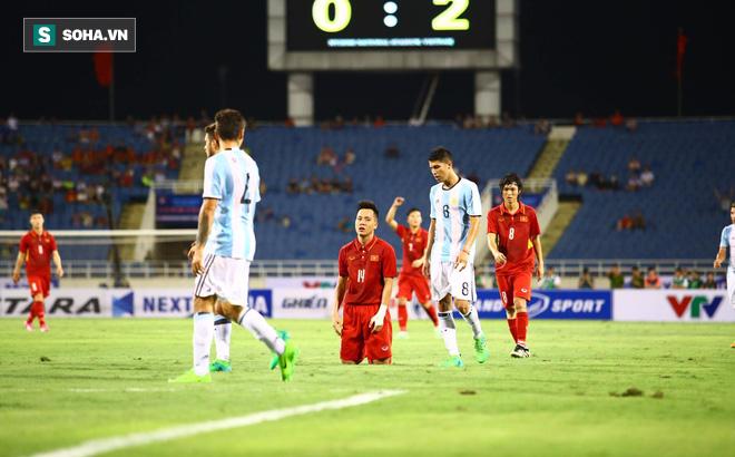 Trực tiếp U22 Việt Nam 0-2 U20 Argentina: U20 Argentina liên tiếp ghi siêu phẩm - Ảnh 1