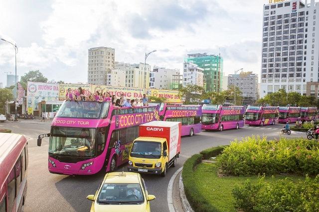 Khám phá tuyến xe buýt 2 tầng phục vụ du lịch đầu tiên tại Đà Nẵng - Ảnh 2.