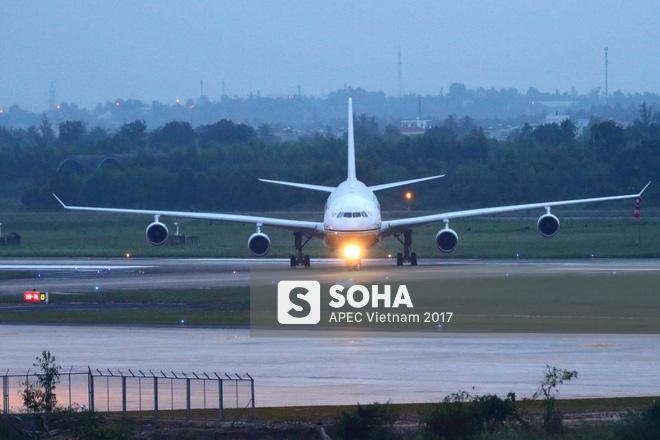 Quốc vương Brunei tự lái Cung điện bay siêu sang A340-212 tới Đà Nẵng dự APEC - Ảnh 11.