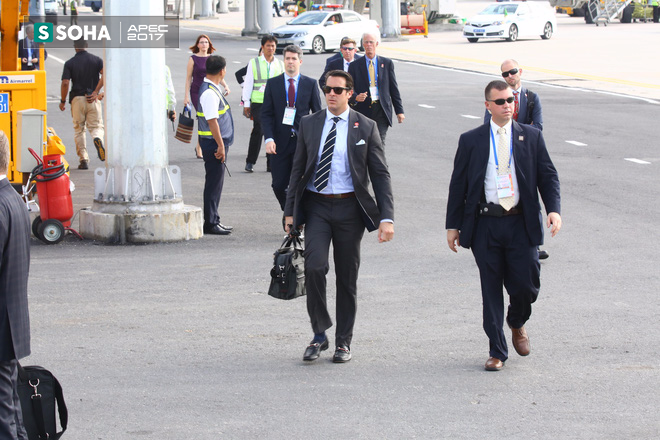 Mật vụ Mỹ đến sân bay, Air Force One sẵn sàng đưa tổng thống Trump rời Đà Nẵng ra Hà Nội 2