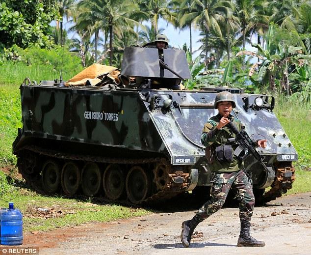 Philippines đã triển khai những vũ khí nào chống phiến quân thân IS? 4