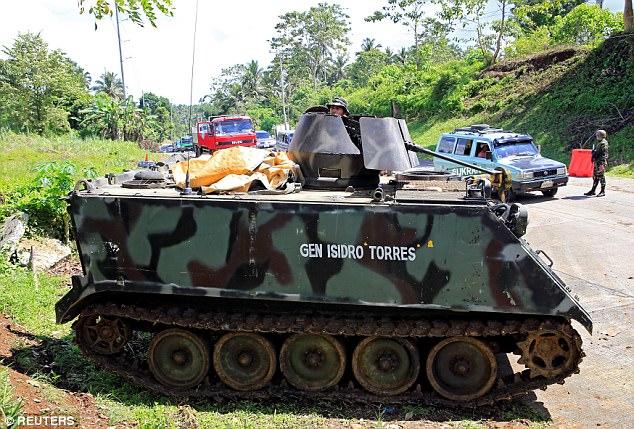 Philippines đã triển khai những vũ khí nào chống phiến quân thân IS? 3