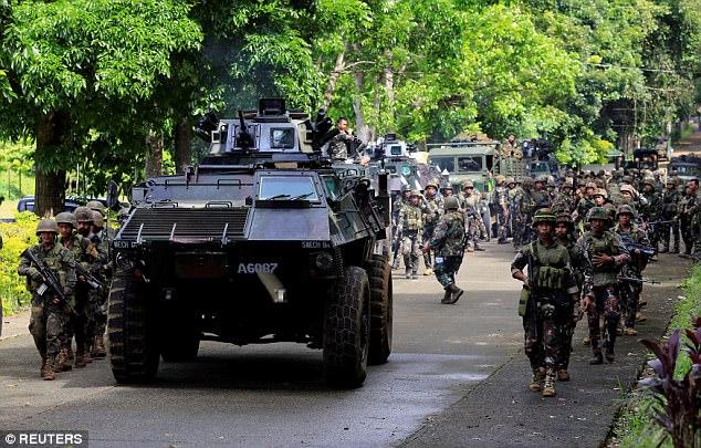Philippines đã triển khai những vũ khí nào chống phiến quân thân IS? 2