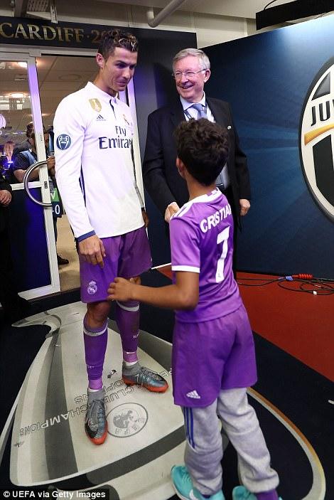 Với Ronaldo, chẳng có