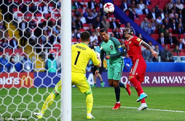 Confederations Cup: Nga 0-1 Bồ Đào Nha