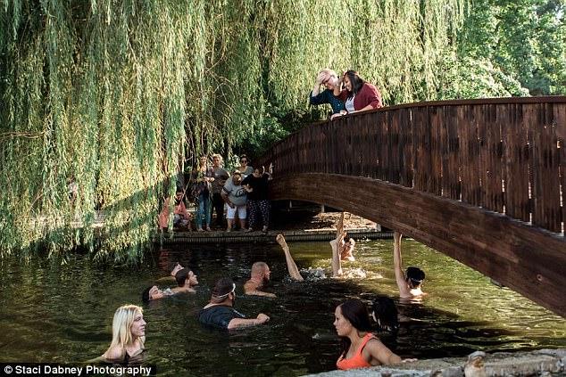 Hài hước màn cầu hôn vụng về: Nhẫn kim cương rơi xuống cầu, lăn tiếp xuống hồ nước - Ảnh 3.