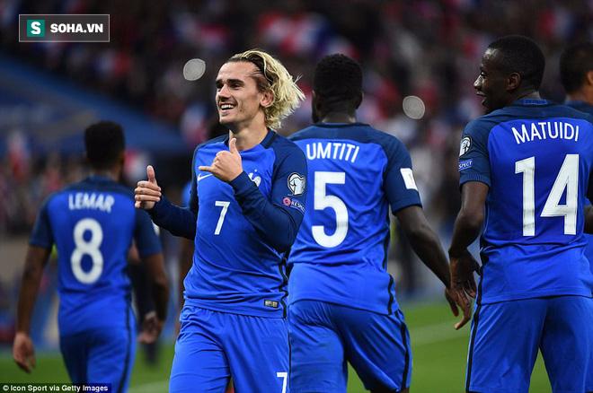 Ngôi sao được Man United tăm tia nổ súng, Pháp đoạt vé chính thức đến World Cup - Ảnh 2.