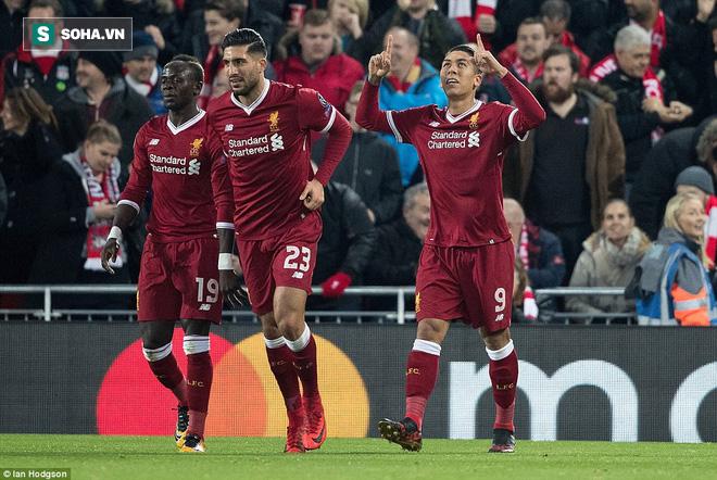 Chiến thắng hủy diệt, Liverpool ra mắt bộ tứ siêu tấn công huyền ảo - Ảnh 1.