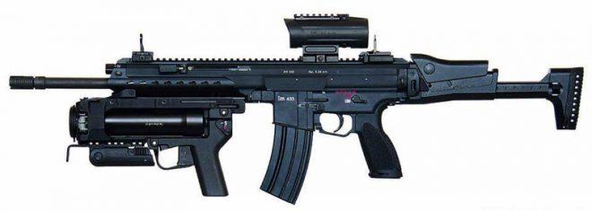 Súng trường tấn công HK433 - Sự kết hợp hoàn hảo giữa HK G36 và HK416 - Ảnh 4.