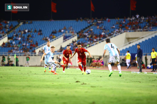 Trực tiếp U22 Việt Nam 0-2 U20 Argentina: U20 Argentina liên tiếp ghi siêu phẩm - Ảnh 2