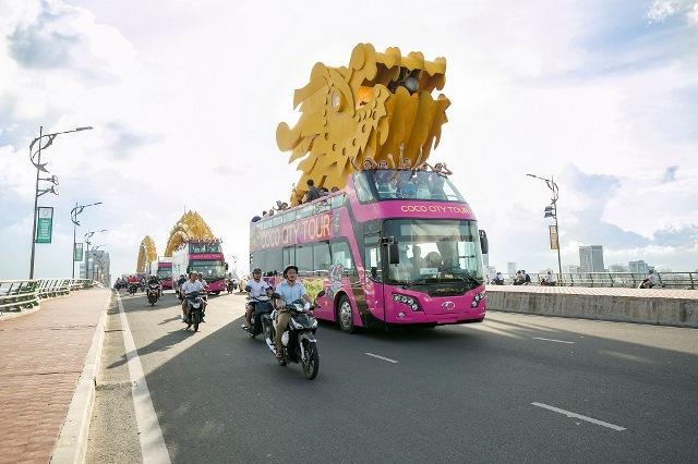 Khám phá tuyến xe buýt 2 tầng phục vụ du lịch đầu tiên tại Đà Nẵng - Ảnh 3.