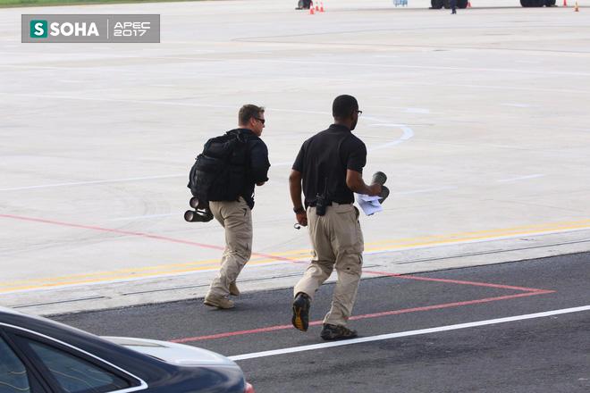 Mật vụ Mỹ đến sân bay, Air Force One sẵn sàng đưa tổng thống Trump rời Đà Nẵng ra Hà Nội 3