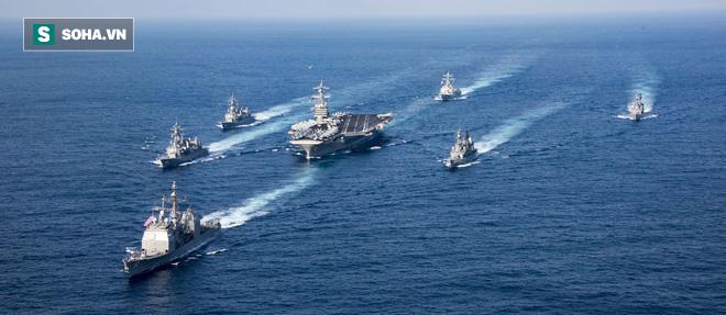 Vụ tàu sân bay 'đi lạc' là đòn nghi binh, khiến QĐ Triều Tiên phơi mình dưới 300 quả tên lửa - ảnh 1