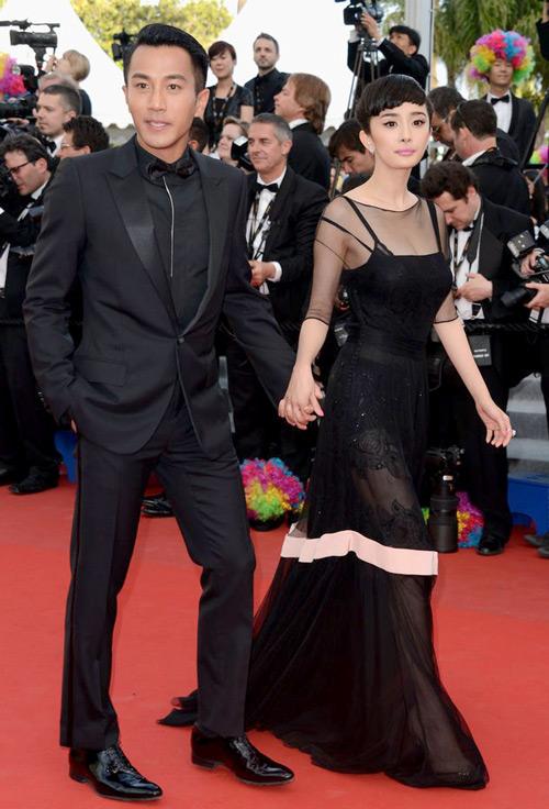 Sao Hoa Ngữ tại Cannes: Có thể đến nhưng không phải ai cũng được chú ý - ảnh 6