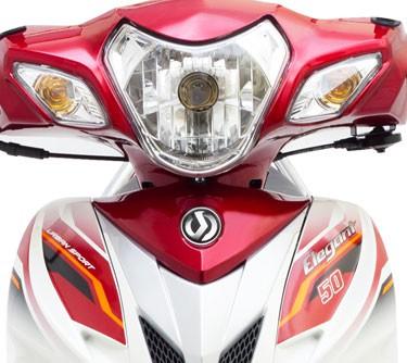 Cận cảnh chiếc xe máy có giá rẻ nhất Việt Nam - Ảnh 3.