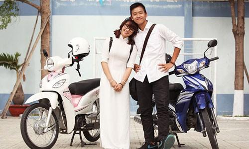Cận cảnh chiếc xe máy có giá rẻ nhất Việt Nam - Ảnh 1.