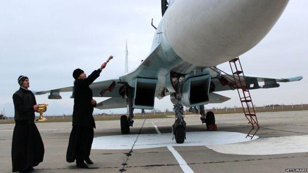 Đặc sắc nghi lễ ban phước cho vũ khí của Quân đội Nga - Ảnh 7.