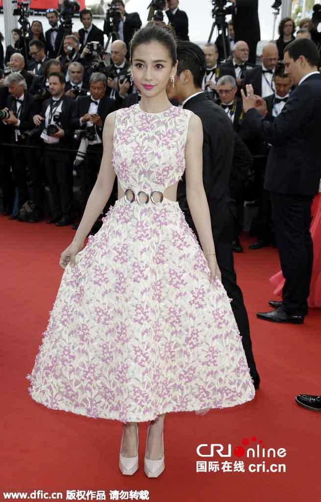 Sao Hoa Ngữ tại Cannes: Có thể đến nhưng không phải ai cũng được chú ý - ảnh 8