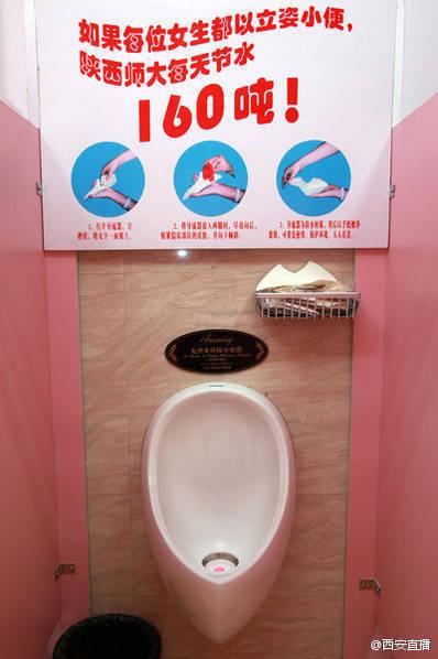 Oái oăm: Trường đại học ép nữ sinh tiểu tiện đứng như nam giới để tiết kiệm nước - Ảnh 2.