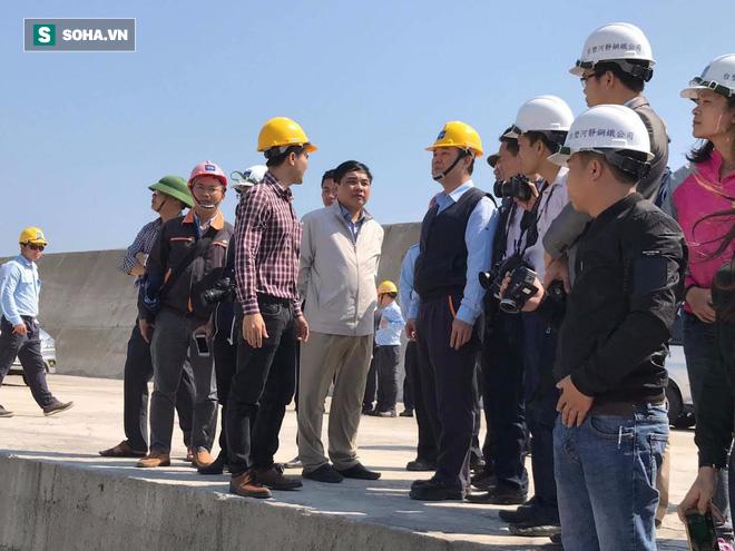 Lãnh đạo khu kinh tế Hà Tĩnh: Formosa không có cống xả thải nào như video trên mạng - Ảnh 3.