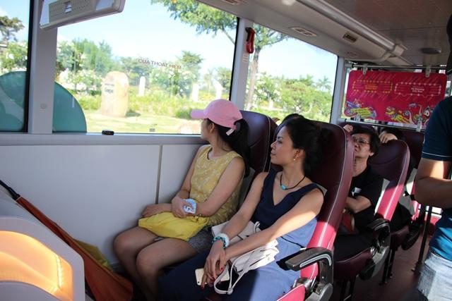 Khám phá tuyến xe buýt 2 tầng phục vụ du lịch đầu tiên tại Đà Nẵng - Ảnh 5.