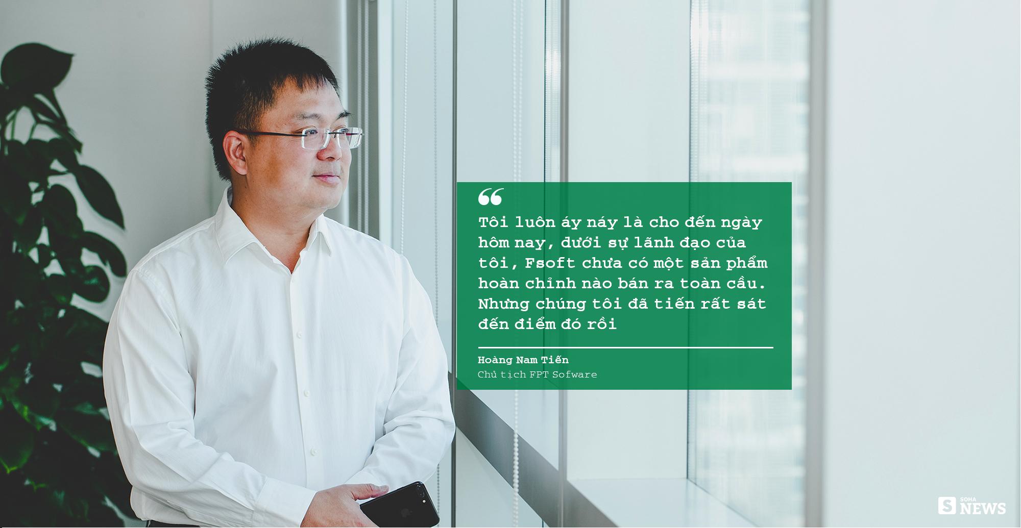 """Chủ tịch FPT Software Hoàng Nam Tiến: """"Nếu cứ phân tích SWOT như các bạn Tây thì không công ty Việt Nam nào dám bước ra khỏi biên giới"""" - Ảnh 11."""