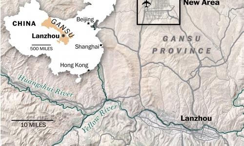 Những thành phố ma giữa lòng sa mạc ở Trung Quốc đang dần tỉnh giấc - Ảnh 1.