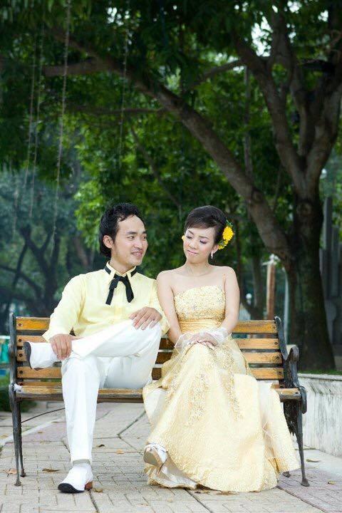Ảnh cưới 6 năm trước của hoa hậu hài Thu Trang và Tiến Luật - Ảnh 10.
