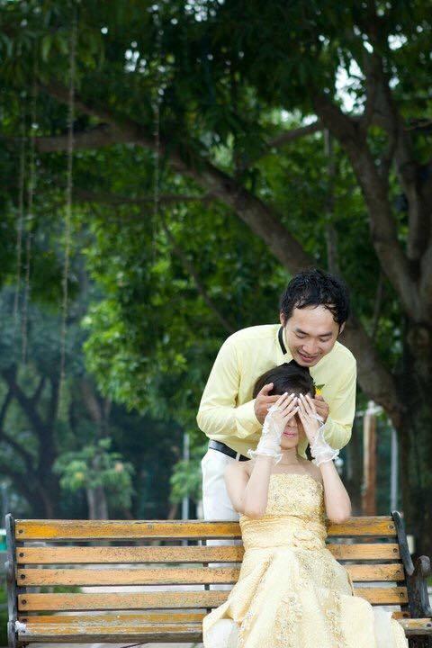 Ảnh cưới 6 năm trước của hoa hậu hài Thu Trang và Tiến Luật - Ảnh 9.