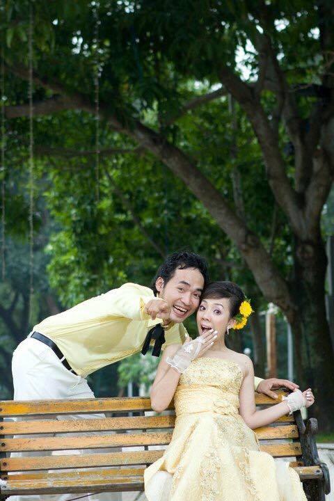 Ảnh cưới 6 năm trước của hoa hậu hài Thu Trang và Tiến Luật - Ảnh 8.