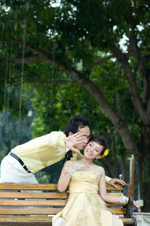 Ảnh cưới 6 năm trước của hoa hậu hài Thu Trang và Tiến Luật - Ảnh 7.