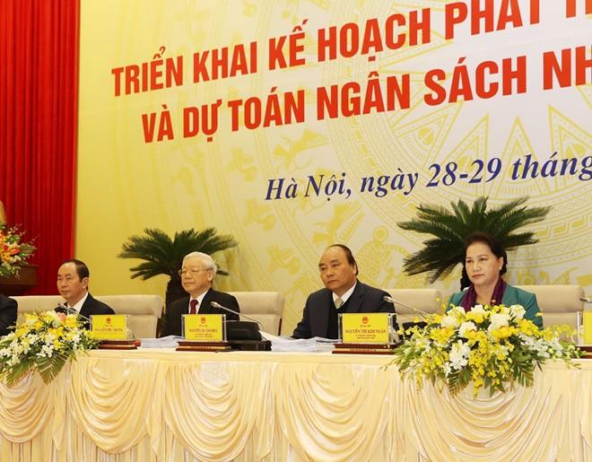 Tổng Bí thư Nguyễn Phú Trọng: Loại bỏ những người tham nhũng, hư hỏng ra khỏi bộ máy - Ảnh 1.