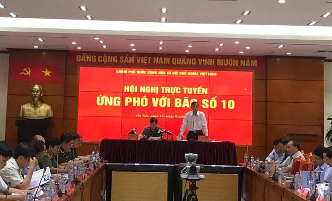 Các tỉnh Nghệ An, Hà Tĩnh, Quảng Bình, Quảng Trị chịu ảnh hưởng trực tiếp của bão số 10 - Ảnh 1.