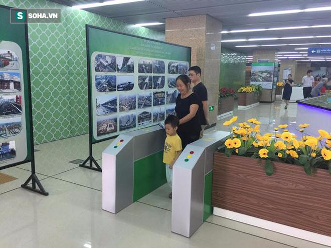 Cận cảnh nhà ga, tàu đường sắt trên cao Cát Linh - Hà Đông - ảnh 21