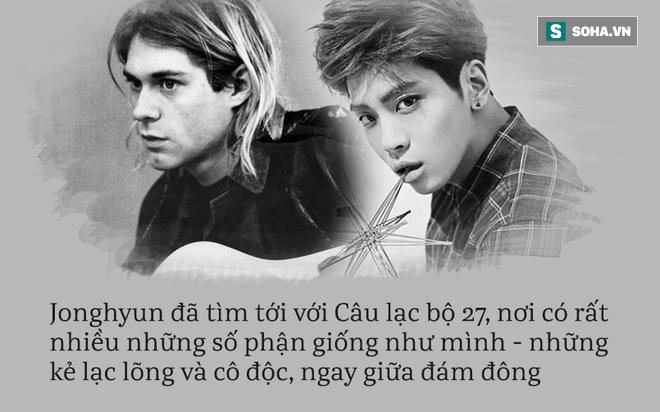 Jonghyun đột ngột qua đời: Lời nguyền khủng khiếp số 27 ám ảnh các ngôi sao toàn thế giới! - Ảnh 4.