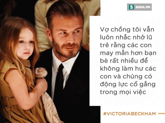 Cách vợ chồng Beck - Vic dạy con: Có cha mẹ giàu có nhưng vẫn phải đi rửa chén bát thuê - ảnh 4