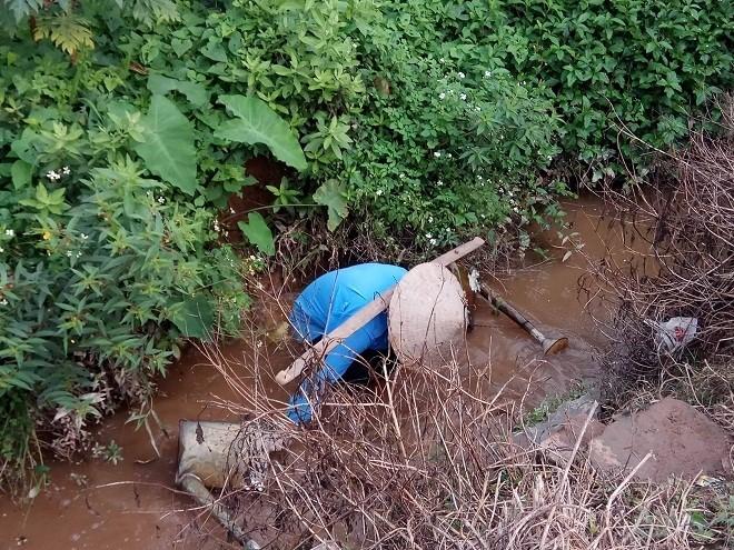 Rau sống tưới nước thải tím ngắt, thịt lợn vào báo cáo của World Bank - Ảnh 2.