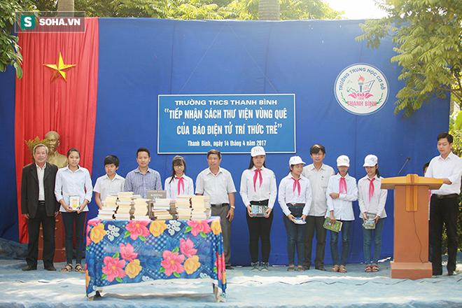 Học trò Thanh Bình vui đón trái tim của nhà trường - Ảnh 4.
