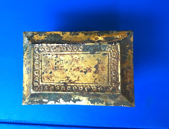 Cận cảnh cổ vật bằng vàng tại Nghệ An vừa được công nhận là bảo vật Quốc gia - Ảnh 3.