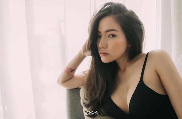 Loạt hình lột xác gợi cảm của vợ cũ Lâm Vinh Hải - Ảnh 6.